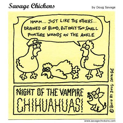 Savage Chickens - Crime Scene