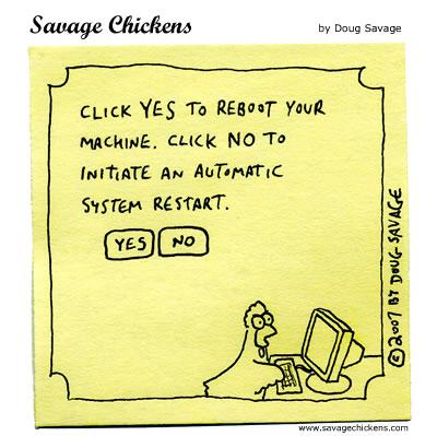Savage Chickens - Reboot