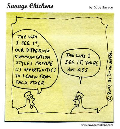 Understanding Cartoon | Savage Chickens - Cartoons on Sticky