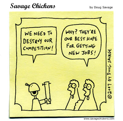 Savage Chickens - Competition