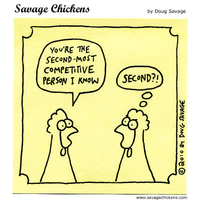 Savage Chickens - Competitive
