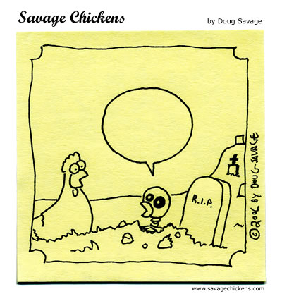 Savage Chickens - Halloween Contest 2006