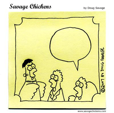 Savage Chickens - Halloween Contest 2007