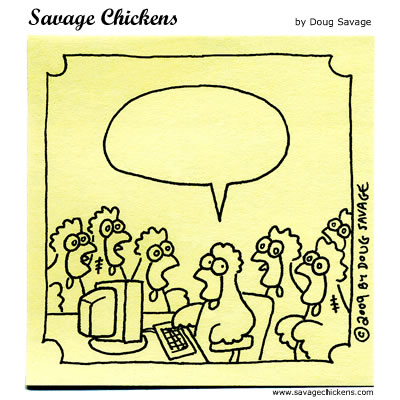 Savage Chickens - Halloween Contest 2009