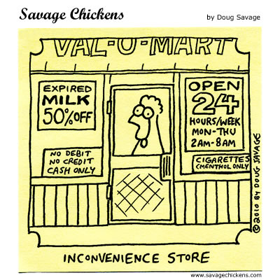 Savage Chickens - Open for Business