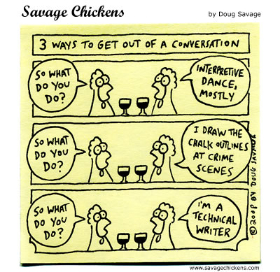 Savage Chickens - A Little Less Conversation
