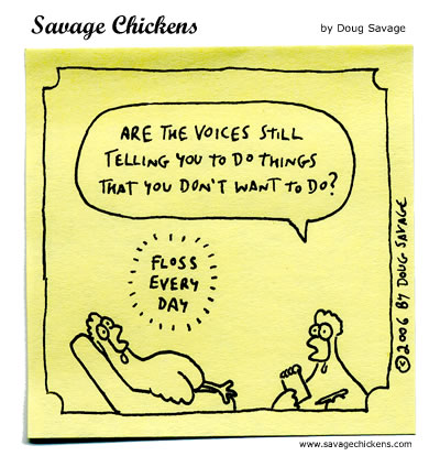 Savage Chickens - The Voices