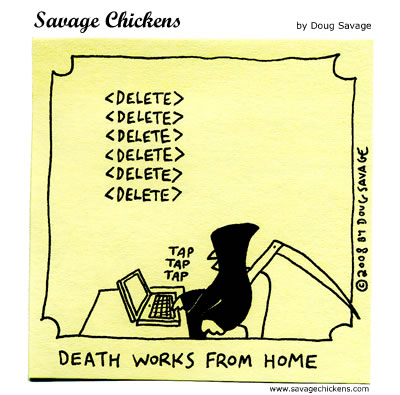 Savage Chickens - Death