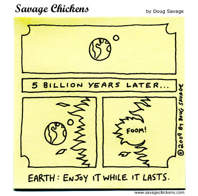 Savage Chickens - Earth