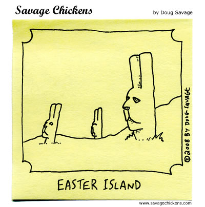 Savage Chickens - Bunnies