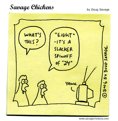 Savage Chickens - Twenty-Four