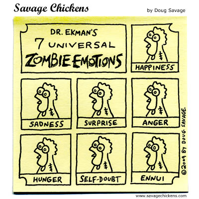 Savage Chickens - Zombie Emotions