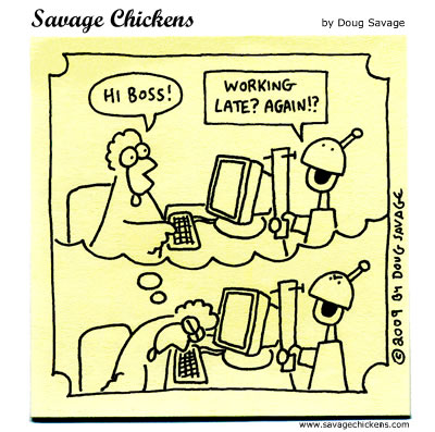 Savage Chickens - Dream Employee