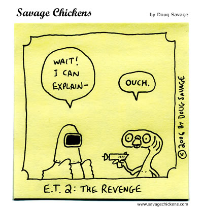 Savage Chickens - Another Sequel