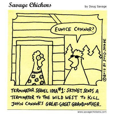 Savage Chickens - Eunice