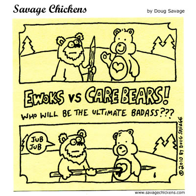 Savage Chickens - Ultimate Badass