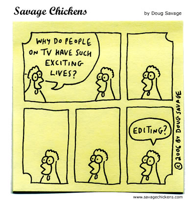 Savage Chickens - Exciting Lives