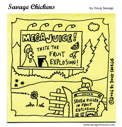 Savage Chickens - Explosion