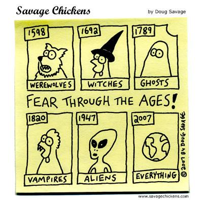 Savage Chickens - Scary Stuff