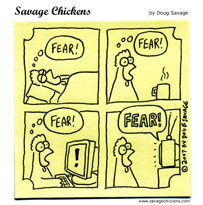 Savage Chickens - Fear