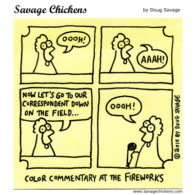 Savage Chickens - Live Coverage