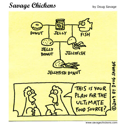 Savage Chickens - The Plan