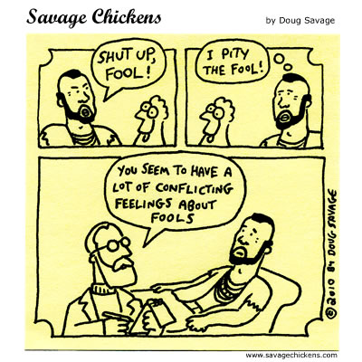 Savage Chickens - Fool Therapy