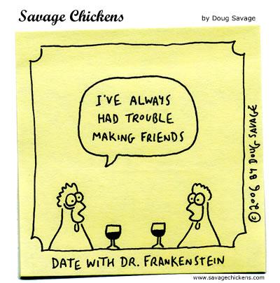 Savage Chickens - Friends