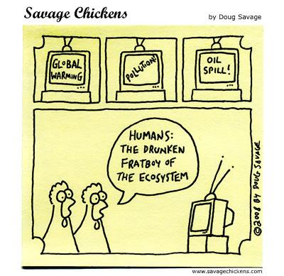 Savage Chickens - Humans