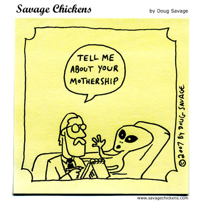 Savage Chickens - Alien Therapy