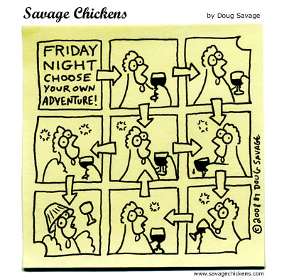 Savage Chickens - Friday Night