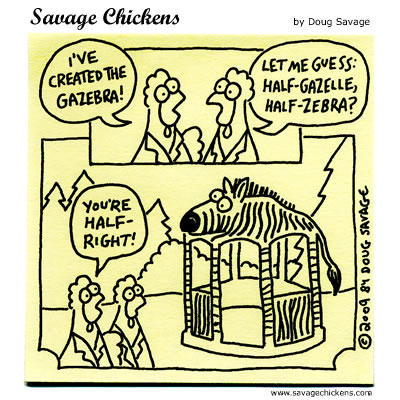 Savage Chickens - Fun With Genetics 6