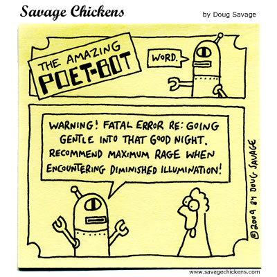 Savage Chickens - Warning!
