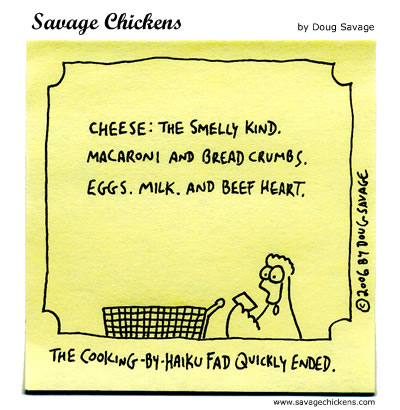 Savage Chickens - Grocery Store