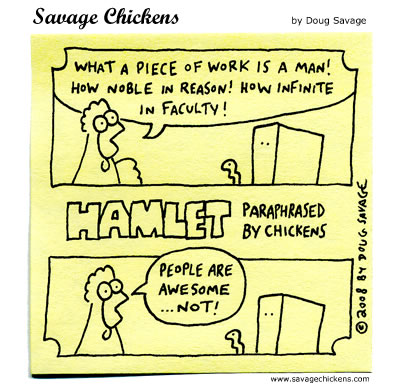 Savage Chickens - Piece of Work