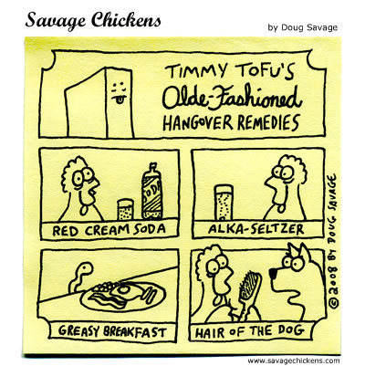 Savage Chickens - Hangover
