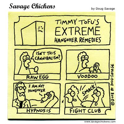 Savage Chickens - Hangover 2