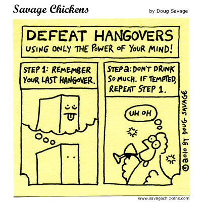 Savage Chickens - Defeat Hangovers