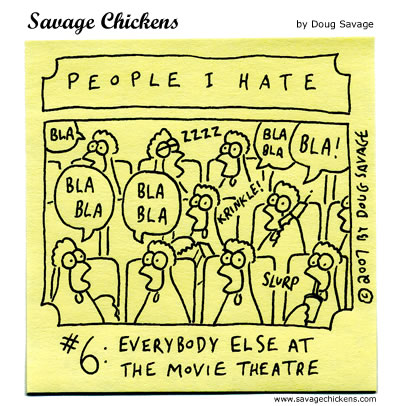 Savage Chickens - People I Hate 6