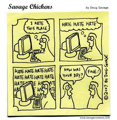 Savage Chickens - One Fine Day