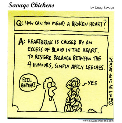 Savage Chickens - Heartbreak