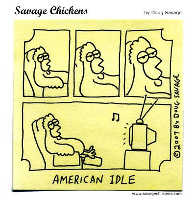 Savage Chickens - Must-See TV