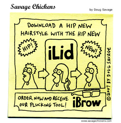 Savage Chickens - Beyond the iPhone