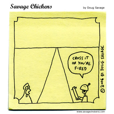 Savage Chickens - Incentive