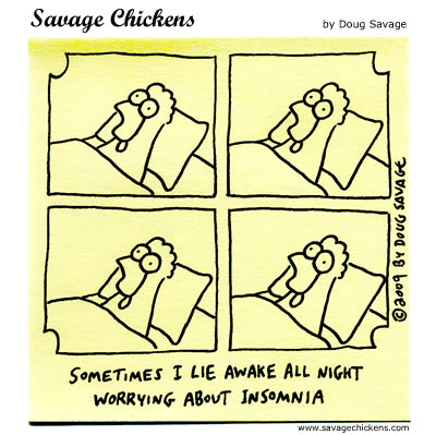 Savage Chickens - Awake