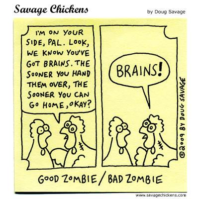 Savage Chickens - Interrogation