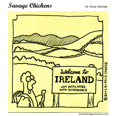Savage Chickens - Ireland
