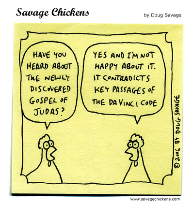 Savage Chickens - Judas