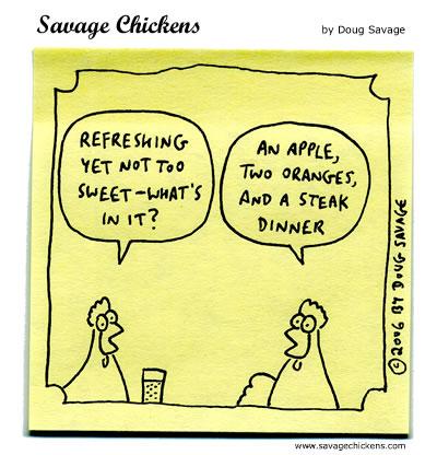 Savage Chickens - Juicer