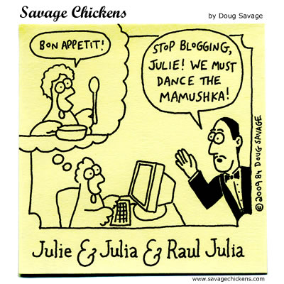 Savage Chickens - Bon Appetit!